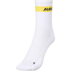 Mavic Cosmic Mid Cycling Socks white